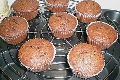 Schokoladen Muffins für Eilige 13