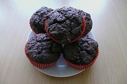 Schokoladen Muffins für Eilige 20