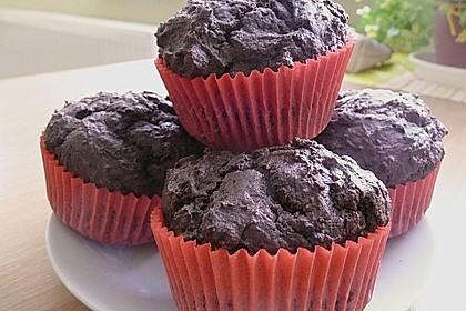 Schokoladen Muffins für Eilige 21