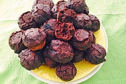 Schokoladen Muffins für Eilige 0
