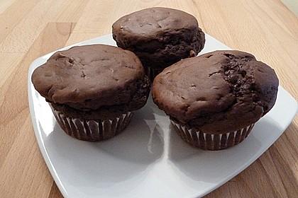 Schokoladen Muffins für Eilige 3