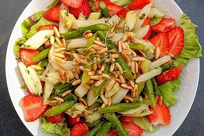 Marinierter Spargel - Erdbeer - Salat 2