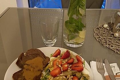 Marinierter Spargel - Erdbeer - Salat 12