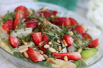 Marinierter Spargel - Erdbeer - Salat 4