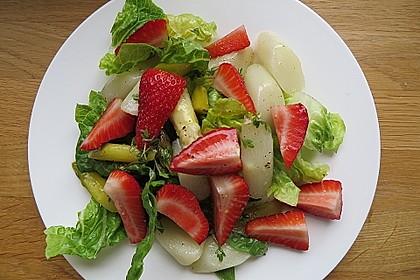 Marinierter Spargel - Erdbeer - Salat 9