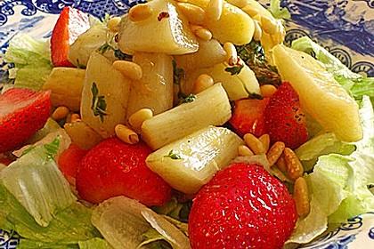 Marinierter Spargel - Erdbeer - Salat 8
