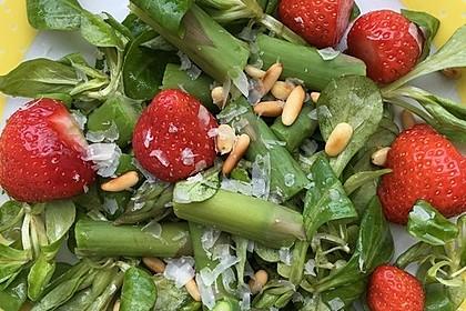 Marinierter Spargel - Erdbeer - Salat 14