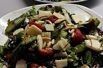 Marinierter Spargel - Erdbeer - Salat 6