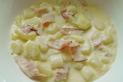 Bechamelkartoffeln mit Spargel 5