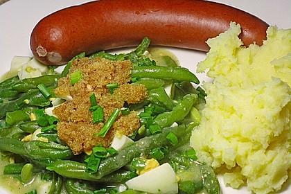 Grüne Bohnen in Eiersauce 2