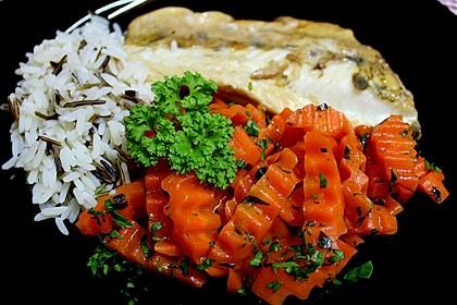 Glasierte Karotten 2