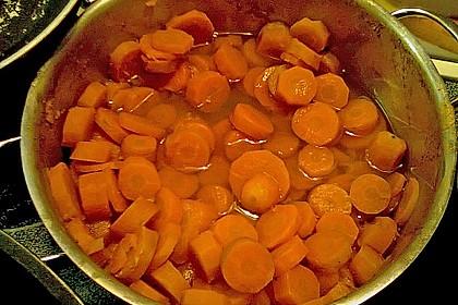 Glasierte Karotten 4