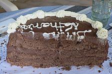 Südtiroler Schokoladenkuchen