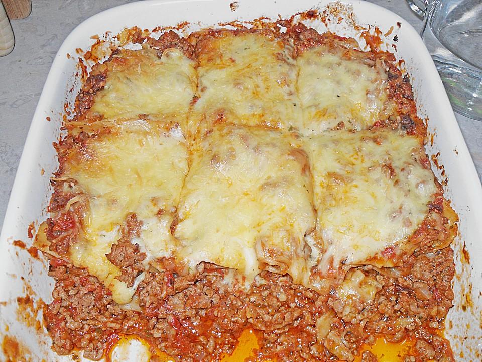 Lasagne alla Bolognese (Rezept mit Bild) von heimwerkerkönig ...