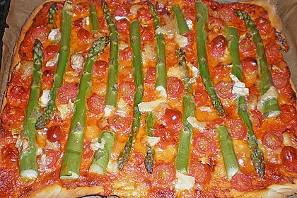 Spargel - Pizza 9