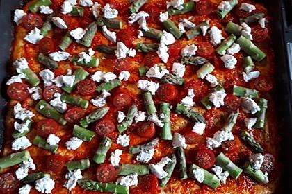 Spargel - Pizza 14