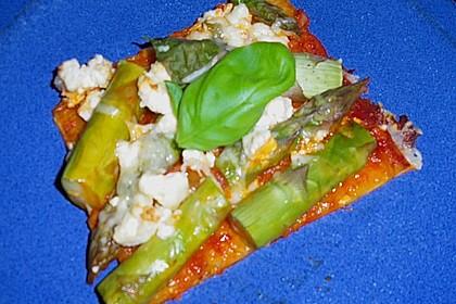 Spargel - Pizza 15