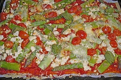 Spargel - Pizza 11