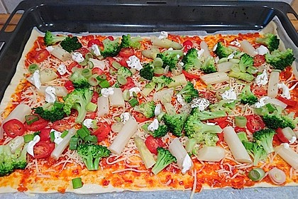 Spargel - Pizza 7