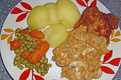 Frisches Erbsen - und Möhrengemüse 11