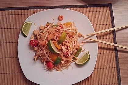 Pad Thai mit Garnelen 2