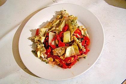 Überbackener Fenchel auf Tomatenbeet 3