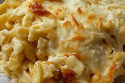 Schnelle Käsespätzle 7
