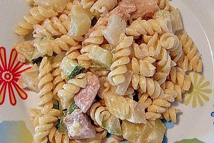 Hähnchen - Kohlrabi - Zucchini Pfanne 7
