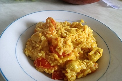Hähnchen - Mango - Curry 16
