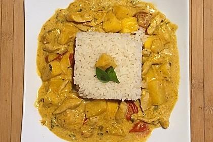 Hähnchen - Mango - Curry 12