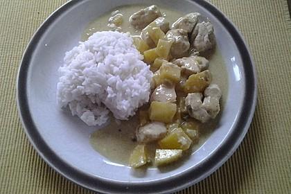 Hähnchen - Mango - Curry 13