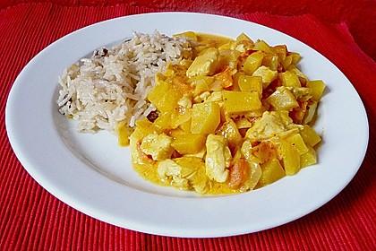 Hähnchen - Mango - Curry 1