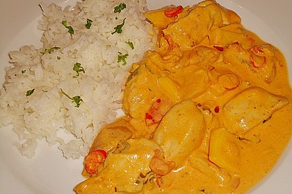 Hähnchen - Mango - Curry 2