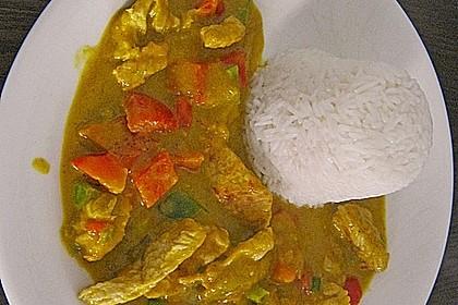 Hähnchen - Mango - Curry 6