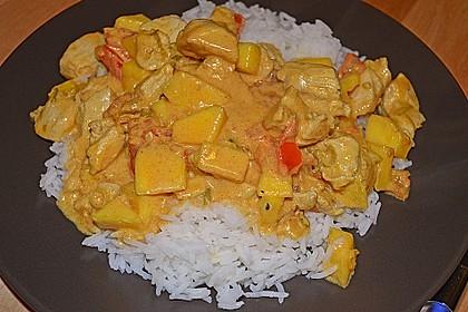 Hähnchen - Mango - Curry 3