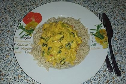 Hähnchen - Mango - Curry 4