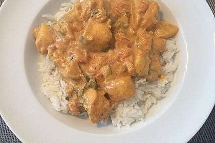 Hähnchen - Mango - Curry 5