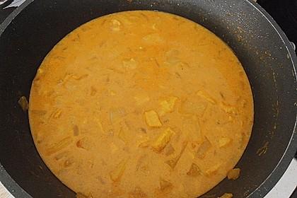 Curry - Geschnetzeltes mit Ananas 8