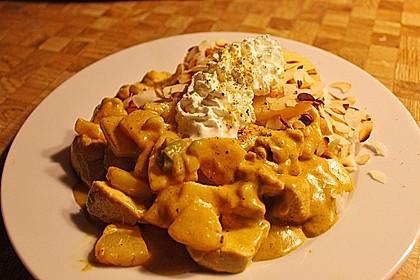 Curry - Geschnetzeltes mit Ananas 6