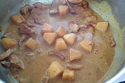 Curry - Geschnetzeltes mit Ananas 9