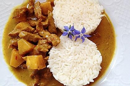 Curry - Geschnetzeltes mit Ananas 1