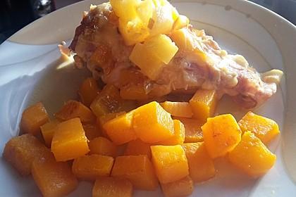 Curry - Geschnetzeltes mit Ananas 7