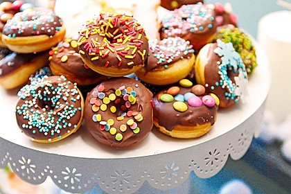 Mini - Donuts für den Donut - Maker 1