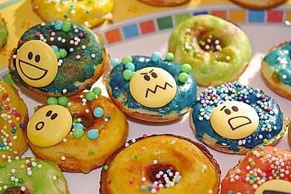 Mini - Donuts für den Donut - Maker 24