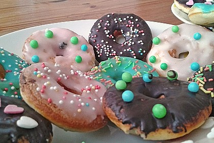 Mini - Donuts für den Donut - Maker 30
