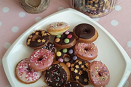 Mini - Donuts für den Donut - Maker 7