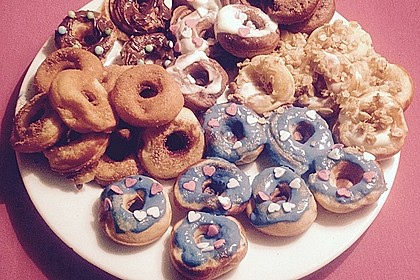 Mini - Donuts für den Donut - Maker 21