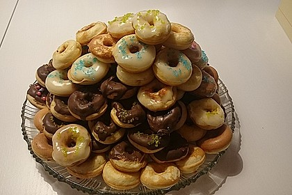 Mini - Donuts für den Donut - Maker 50