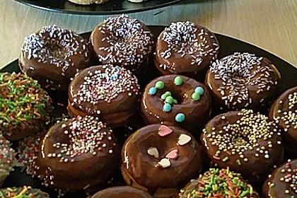 Mini - Donuts für den Donut - Maker 8