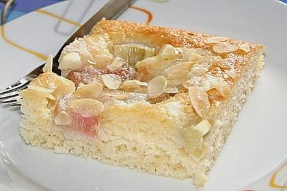 Rhabarber - Buttermilchkuchen 4